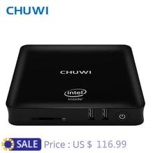 CHUWI официальный! CHUWI hibox герой Мини-ПК ТВ Box Android 5.1 и Окна 10 Intel X5 Z8350 4 ГБ Оперативная память 64 ГБ Встроенная память С Дистанционное управление