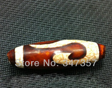 DIY Jewelry Pure natural Stone beads Oval shape Tibetan Dzi beads red white Agate dzi loose beads Natural stone beads