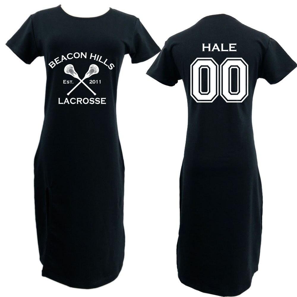 Teen Wolf Beacon Hills Lacrosse Custom Personalized Womens STILINSKI Dress harajuku Dress skirt summer fashion tumblr clothes