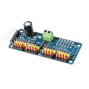 PCA9685 16 канальный 12 бит ШИМ Серводвигатель плата IIC интерфейс PCA9685 модуль контроллера для Arduino Raspberry Pi