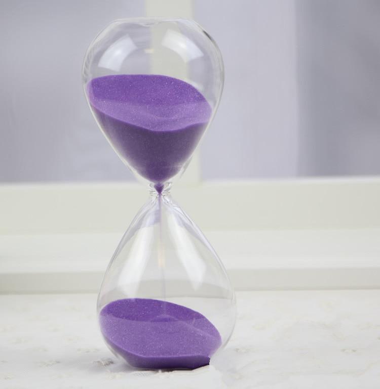1PC 60 dəqiqə Awaglass Əllə partladılmış Taymer saatı - Ev dekoru - Fotoqrafiya 6