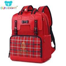 50f3336d18 SUN EIGHT 16 inch Noble Backpacks For Girls Girl Bags Kids Shoulder Zipper  Girl Backpack Bag Kids Birthday