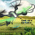 RC Quadcopter JJRC H36 2.4G 6 Axis Gyro Quadcopter with Led lights Headless Mode 360 degree Rolling One Key Return Black Green