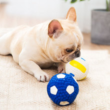 Dog Toys Bite Resistant Cleaning Teeth  Funny Training Ball Pets Puppy Cat Toy Pet Supplies