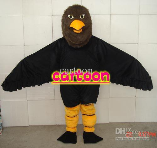 New Eagles Kite Vulture Cartoon Mascot Costume Fancy Dress Animal