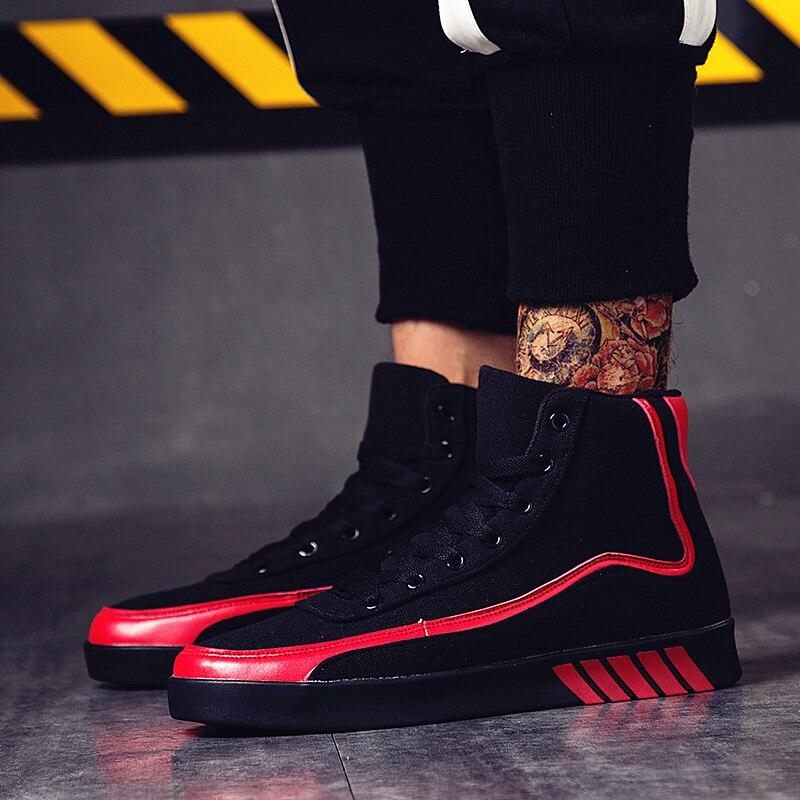 Red Plate Coréens black Casual Cut Baskets Chaussures Taille 2018 Yellow forme 39 Respirant Toile Étudiants 44 Sauvage White Hommes De Black Low Ff4 Nouveau black xqAwtgIPRt