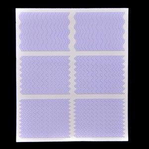 Image 4 - Biutee 12 יח\סט נייל אמנות מדריך טיפים הולו שבלונות מדבקת צרפתית מניקור תבנית 3D ויניל מדבקות טופס סטיילינג כלי
