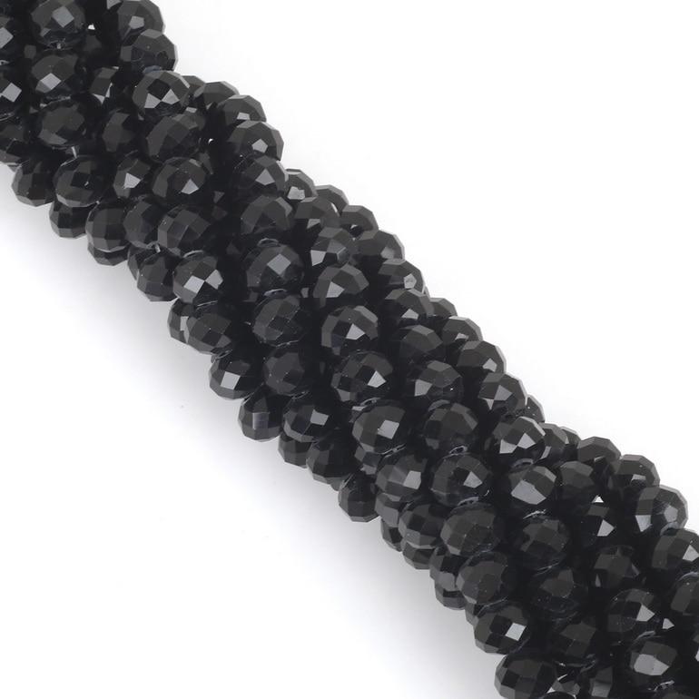 2 мм 3 мм 4 мм 6 мм 8 мм Rondelle австрийские кристаллические граненые бусины стеклянные бусины Свободные разделительные бусины для изготовления браслетов своими руками - Цвет: Style-03