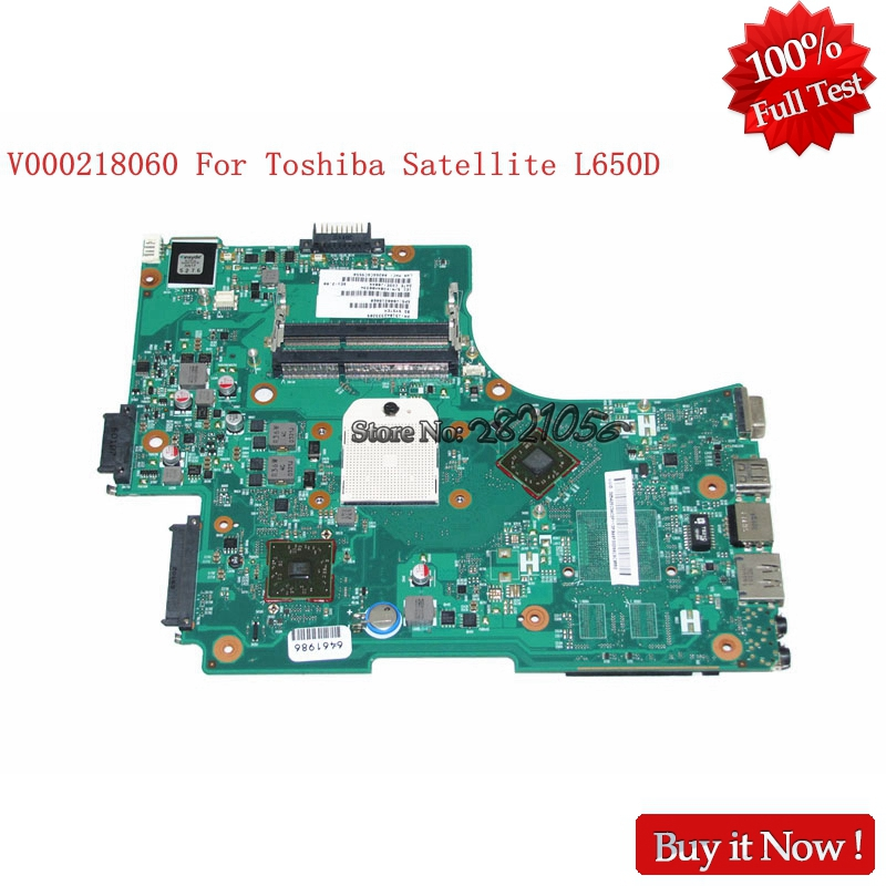 NOKOTION V000218060 for Toshiba Satellite L650D 1310A2333209 Laptop Motherboard HD4200 DDR3 Full Tested nokotion a000076380 laptop motherboard for toshiba satellite l655d l650d socket s1 ddr3 da0bl7mb6d0
