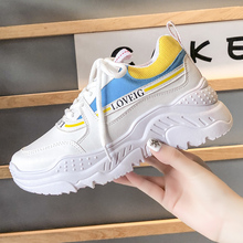 Comfy Breathable Running Shoes Mesh Trainers Heels Womens Platform Sneakers Sport Women Casual Female кроссовки