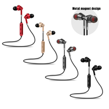 qijiagu  M7 Wireless Bluetooth Earphones Noise Canceling With Mic Sport Headsets in-ear stereo earbuds