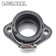 Motorcycle Intake Manifold Joint Carb Carburetor Interface Boot Glue For Polaris Trail Blazer 250 Xplorer 300 4X4 ATV 400L
