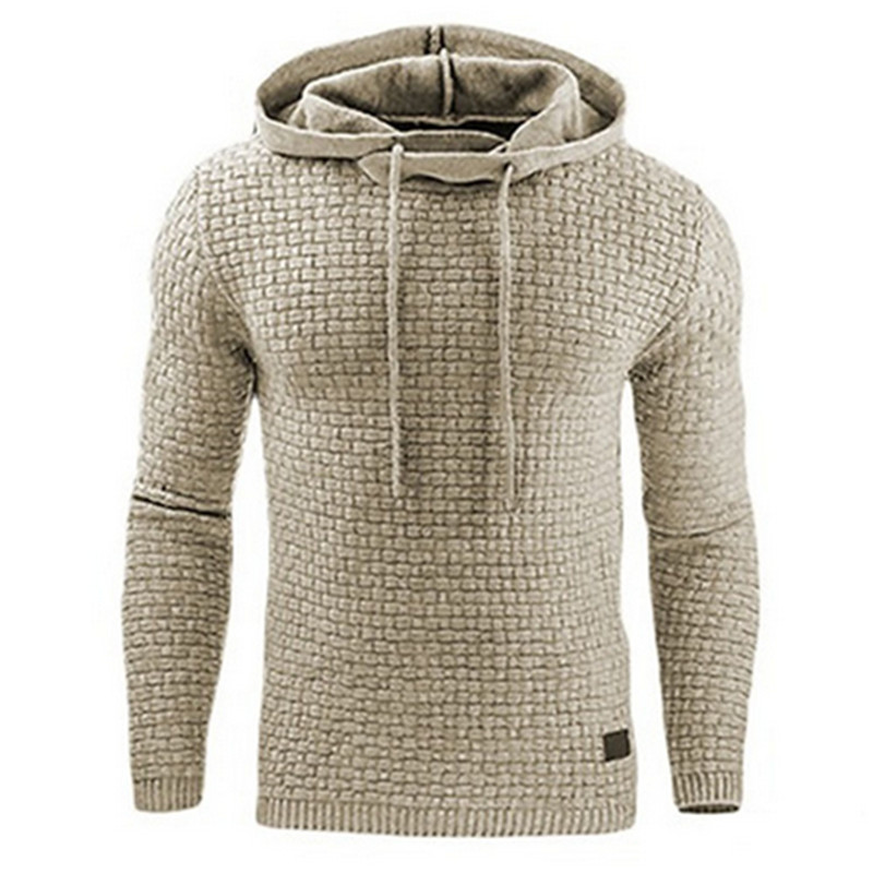 2018 Hoodies Men Brand Male Long Sleeve Solid Color Hooded Sweatshirt Mens Hoodie Tracksuit Sweat Coat Casual