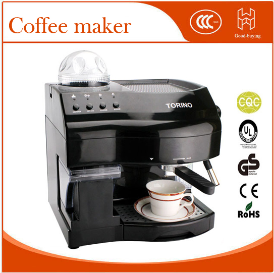 Automatic Coffee maker with bean grinder 15 Bar cappuccino Espresso machine for office home new coffee machine home office semi automatic italy type cappuccino espresso coffee maker hot sales