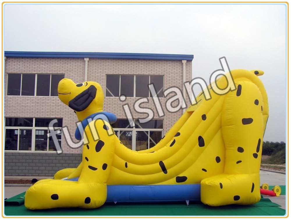 inflatable_dog_slide