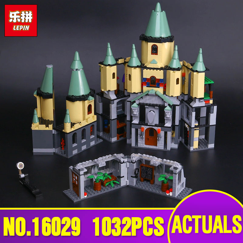 Lepin 16029 Genuine 1033Pcs Movie Series The Magic hogwort castle set 5378 Educational Building Blocks Bricks Toys Model as Gift lepin 16017 castle series genuine the king s castle siege set children building blocks bricks educational toys model gifts