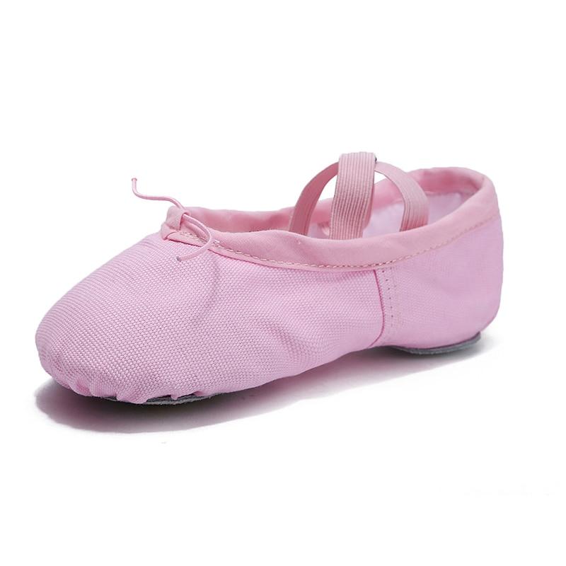 Blomstens Secret Canvas Soft Ballet Shoes Dansskor Yoga Shoes Barnens - Gymnastikskor - Foto 3