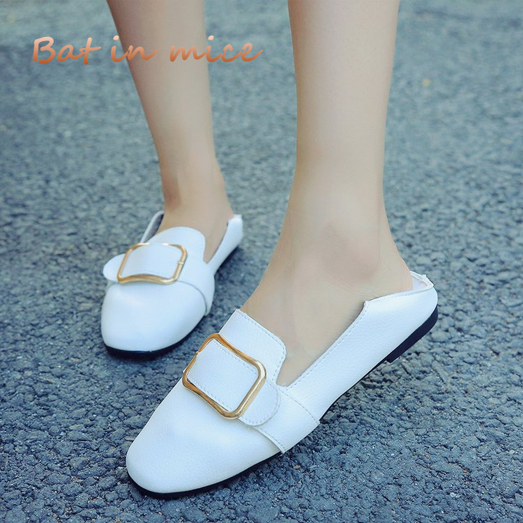 New 2018 women shoes spring and summer casual Breathable PU flats shoes ballet laides shoes women zapatos plus size 35-40 S009 flat shoes women pu leather women s loafers 2016 spring summer new ladies shoes flats womens mocassin plus size jan6
