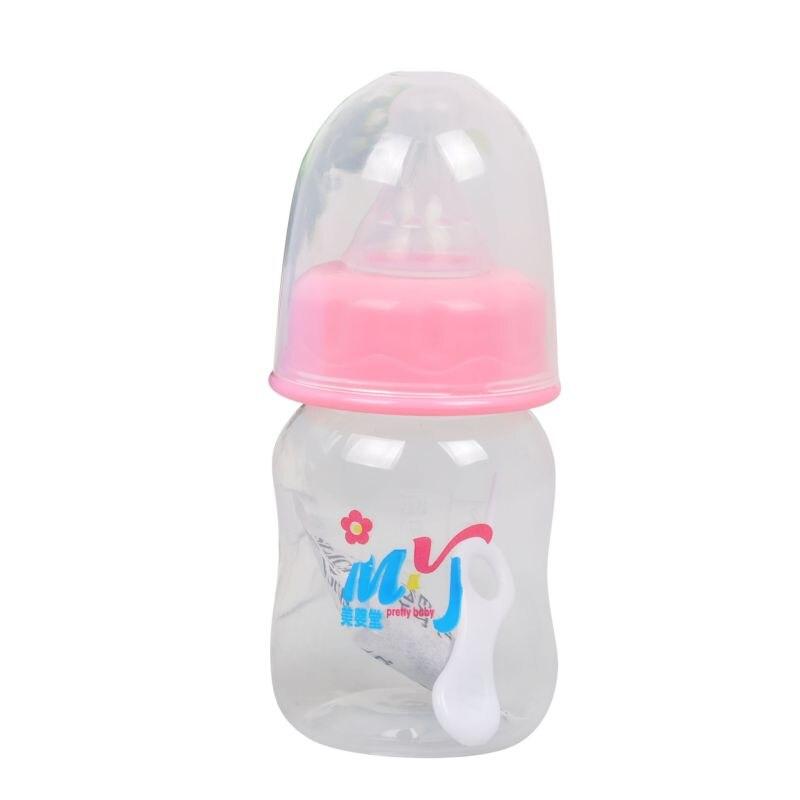 Newborn Kids Nursing Care Feeding Feeder Fruit Juice Milk Bottles 60ML Mini Baby Feeding Bottle BPA Free Safe 2 Colors