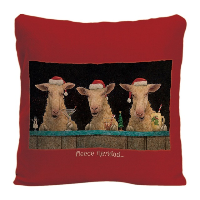 Cotton Linen Cute Pig Cushion Cover Decorative Pillow For Sofa Car Covers Cow Sheep Pillow Case Animal Home Decor Pillowcase