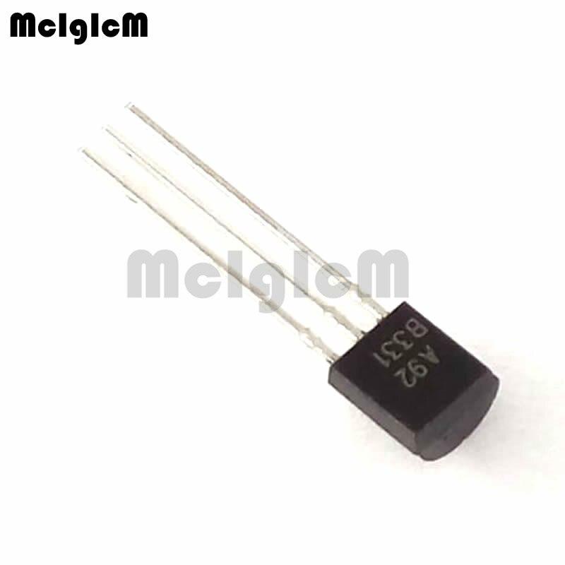MCIGICM 5000pcs mpsa92 A92 in line triode transistor TO 92 0 5A 300V pnp Original new