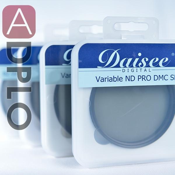 Daisee 82 mm camera lens filter / optical glass VARIABLE ND PRO DMC SLIM Filter / adjustable neutral density filter
