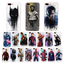 Marvel Superhero Doctor Strange Black Widow ant man Art pattern soft case for iphone x xr xs max 5s 6 6s 7 8 plus se 5 TPU cover