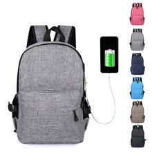 Teenagers Laptop Anti Theft Travel bag Backpack usb charging Schoolbag Men Mochila Masculina male Bags Bagpack School Backpacks