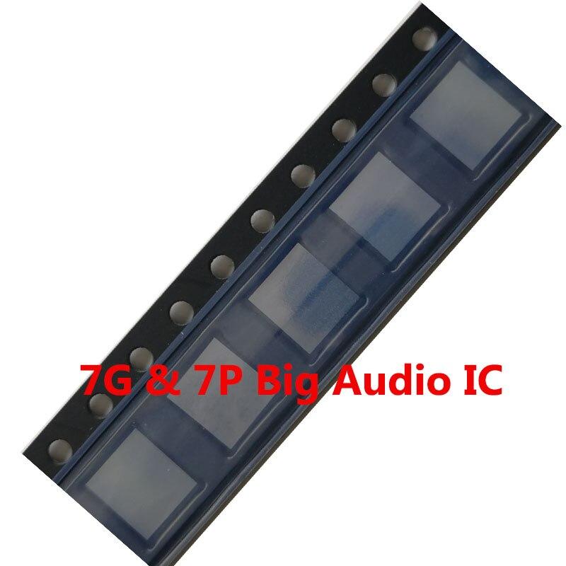 30pcs/lot 338S00105 CS42L71 U3101 for iphone 7 7plus big main audio codec ic chip