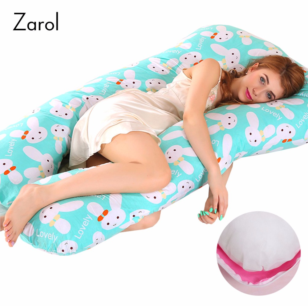 17 Styles Multifunction Cotton Pillow Body Pillow for Pregnant Women Pillows Waist Support Pillow Side Sleeping Pillow 75*140cm