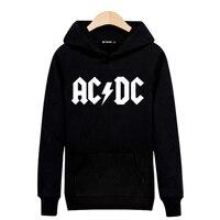 Rock Music AD DC Hooded Hoodies Men Luxury Mens Hoodies And Sweatshirts Hip Hop In Black