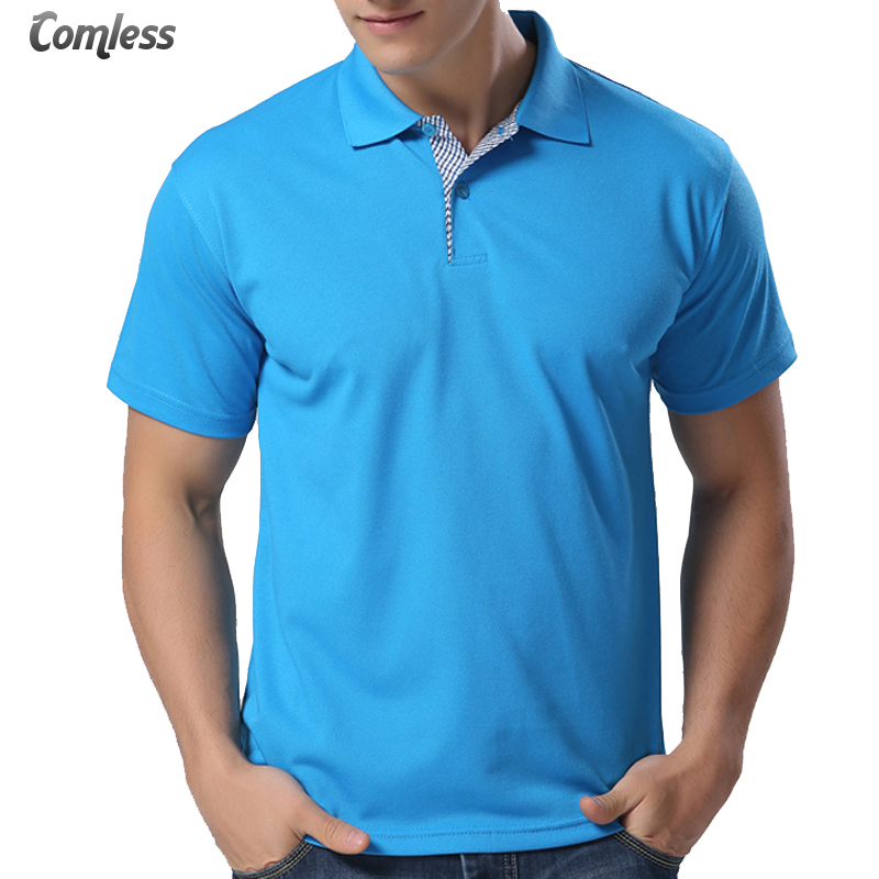 12 color design 2017 fashion mens polo shirt brands short for Polo brand polo shirts