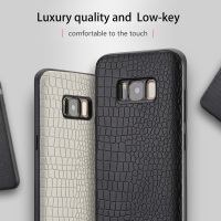 Genuine Leather Phone Case For Samsung S7 S8 S9 Plus Note 8 A7 A8 J5 J7