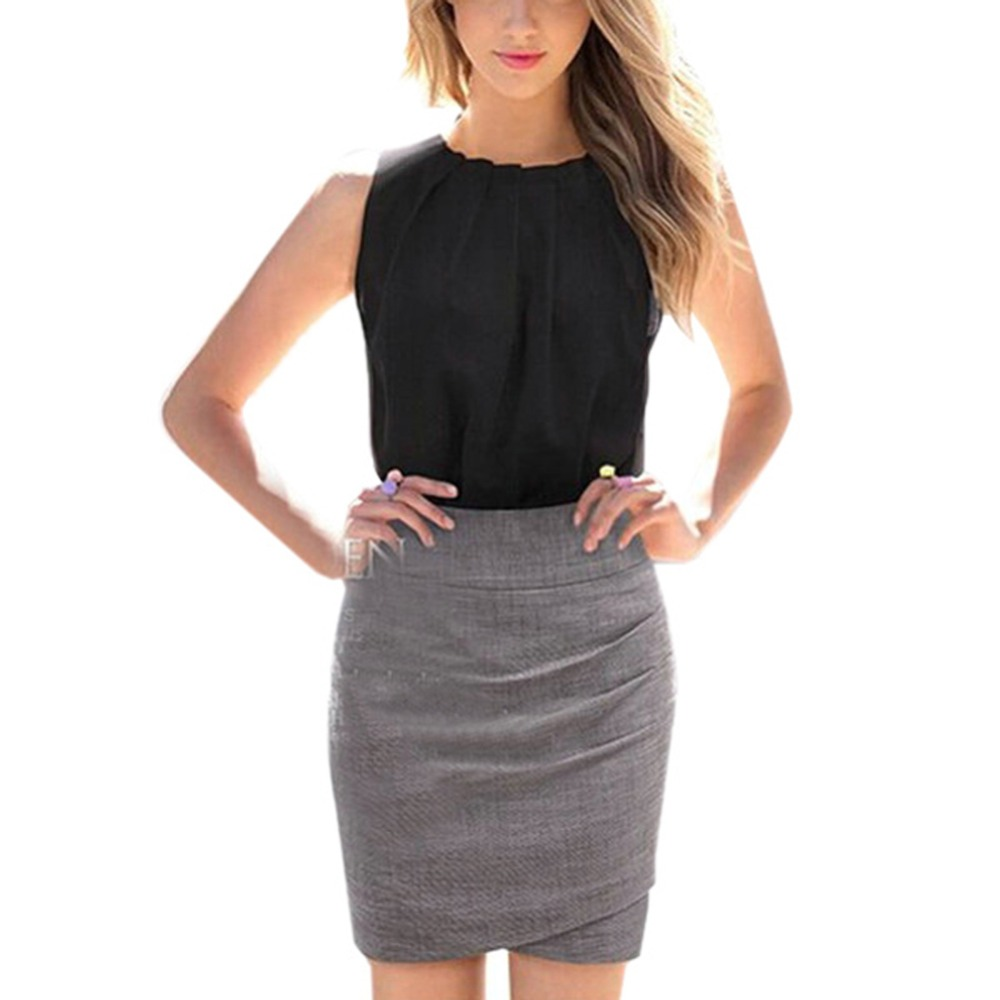 2019 T Shirt Women Fashion Chiffon Plus Size Ladies Blusa Clothing   Tank     Top   Female Tropical Sexy Fold Sleeveless Ladies Clothing