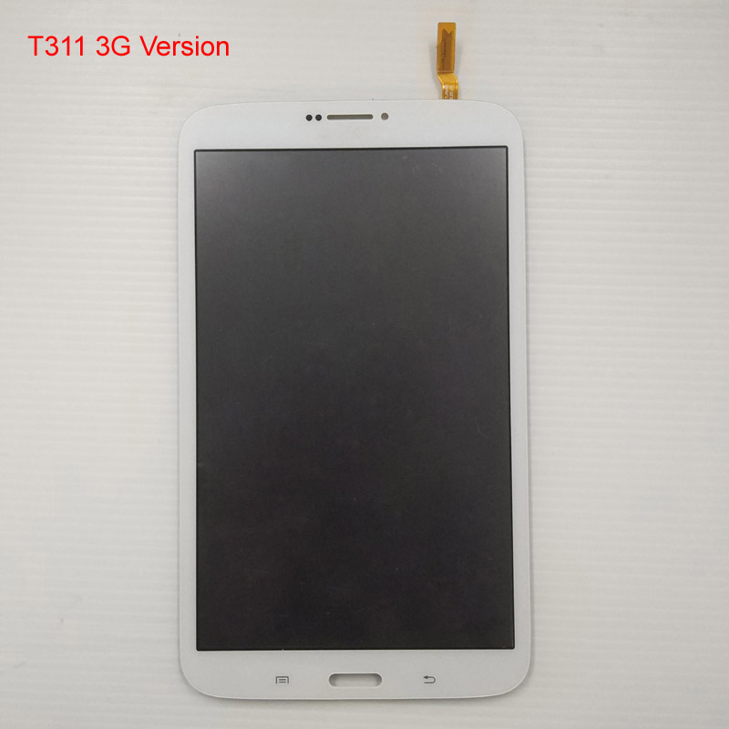 Black For Samsung Galaxy Tab 3 8.0 SM- T310 T311 LCD Display Panel Module + Touch Screen Digitizer Sensor Assembly