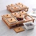 TY6525 отсек Коробка для хранения сушеные фрукты пластины столы для гостиной керамические орехи коробки домашние контейнеры для хранения еды ...