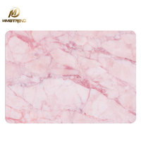 Mimiatrend New Pink Marble Grain Laptop Stickers Case For 2016 Apple Macbook Air Pro Retina 11