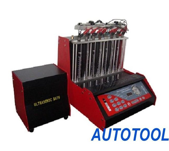 Fuel injector cleaner and tester (HT-8E without working table), SmartAuto Fuel injector cleaner, cover 98% cars. SHIPPING FREE!
