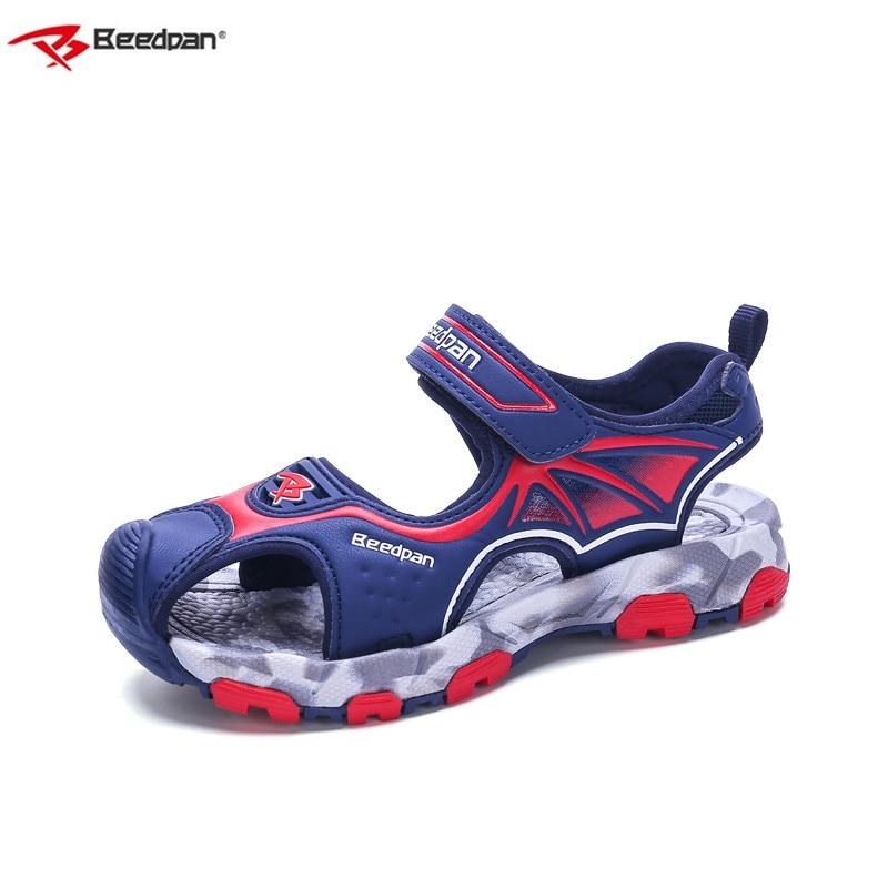 Beedpan Brand 2018 New Children Shoes Kids Sandals Summer Leather Girl Children Sandals Orthopedic Shoes Boy Beach Kids Sandals