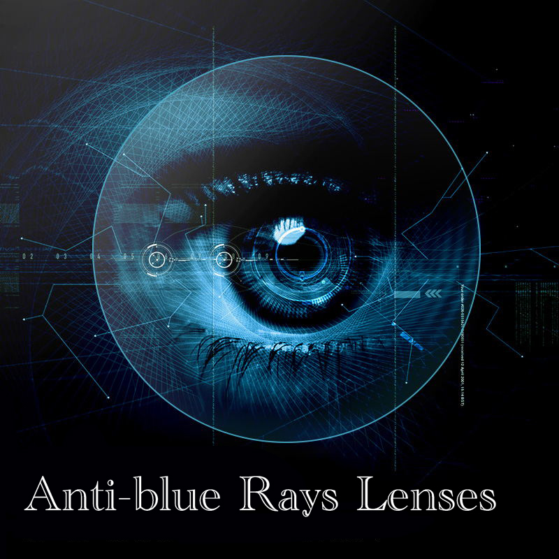 1.56 Index Prescription Lenses Anti-blue Rays CR-39 Resin Aspheric Glasses for Myopia / Hyperopia / Presbyopia Glasses Lens