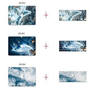 Image 4 - Yeni Mermer 3D baskı MacBook notebook kılıfı dizüstü bilgisayar kılıfı Için MacBook Hava Pro Retina 11 12 13 15 13.3 15.4 inç Torba