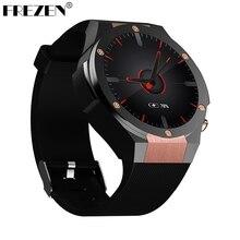 Frezen H2 Смарт-часы MTK6580 жизни Водонепроницаемый 1.4 дюймов 400*400 GPS Wi-Fi 3 г сердечного ритма Мониторы 1 ГБ + 16 г для Android IOS PK KW88