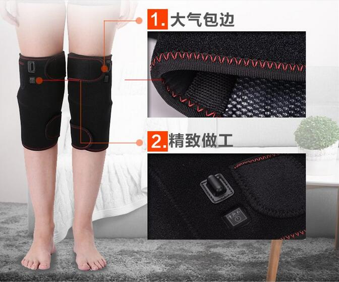 Constant Temp Kneading Heating Therapy Knee Massage Electrical Leg Belt Gloves Joint Arm Moxibustion Massager temp