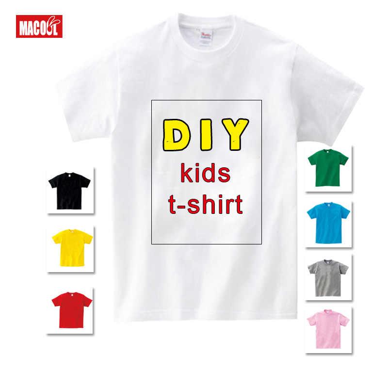 Детская футболка собственного дизайна на заказ детская футболка с принтом «сделай сам» Одежда для мальчиков и девочек «сделай сам» забавная футболка на заказ