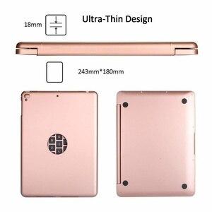 Image 2 - Тонкий Портативный беспроводной Bluetooth клавиатура с жестким чехол для Apple iPad Air / Air 2 / Pro 9,7  / 2017 / 2018 новый iPad 9,7