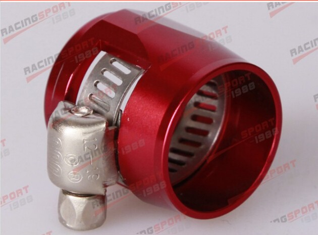 AN8-8 Male To AN6-6 Male Reducer Adapter Joiner Fitting RED