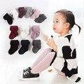 16 primavera e no outono 100% do bebê do algodão meias bebê arquivos abertos meias dupla agulha criança do sexo feminino