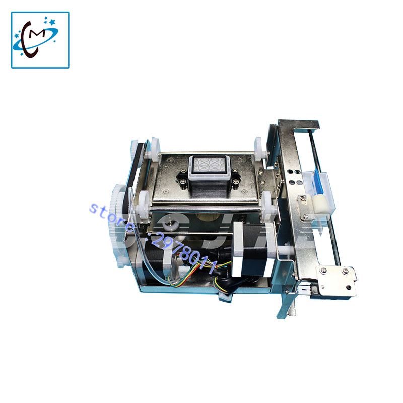 thunderjet zhongye gongzheng human licai titanjet sunika outdoor inkjet printer DX5 head single capping pump assembly ink stack