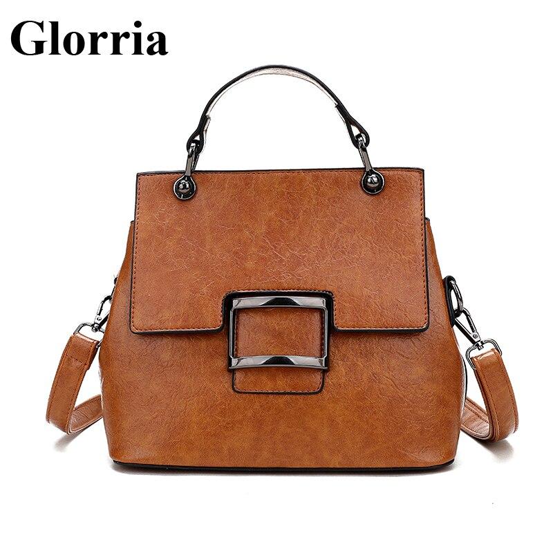 Glorria роскошные сумки для женщин кожаная сумка дизайнер известный бренд Tote Сумка женская большой ёмкость Sac Dos