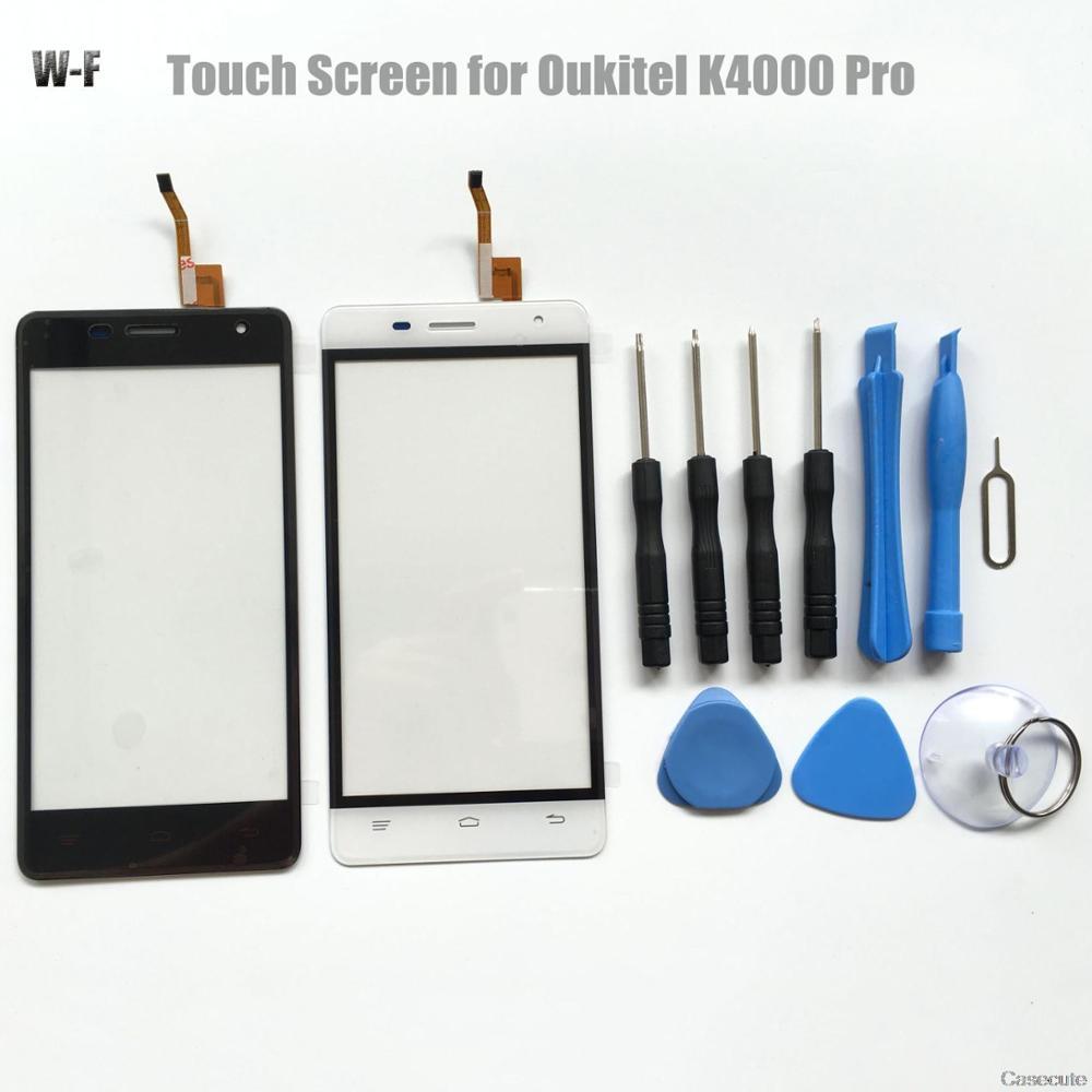 imágenes para Hacrin para OUKITEL K4000 Pro Reemplazo de Panel de Cristal de la Pantalla Táctil con Las Herramientas Accesorios Del Teléfono Inteligente Para OUKITEL K4000 Pro